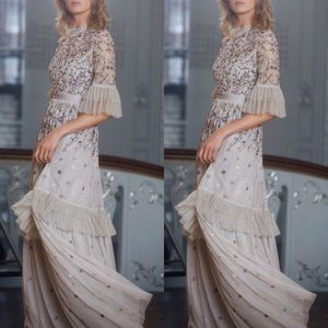 Anthropologie x BHLDN Needle & Thread Jamila Dress